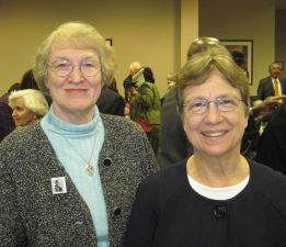 Alice with Representative Verla Insko at the Annual University/Community Martin Luther King, Jr. Memorial Banquet